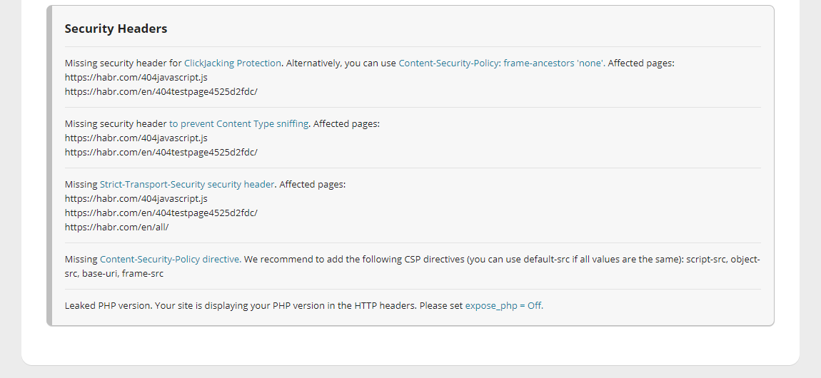 Не лайтхаусом единым: как проверить свой сайт со всех сторон - 9