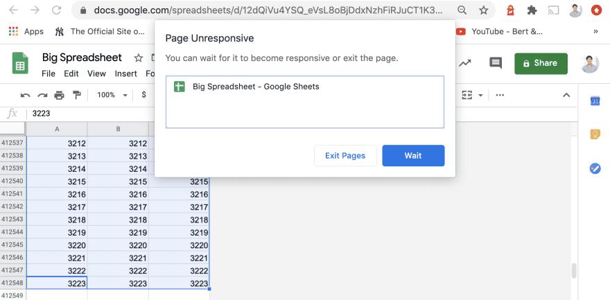 Об ответственном использовании Google Таблиц в роли баз данных - 2