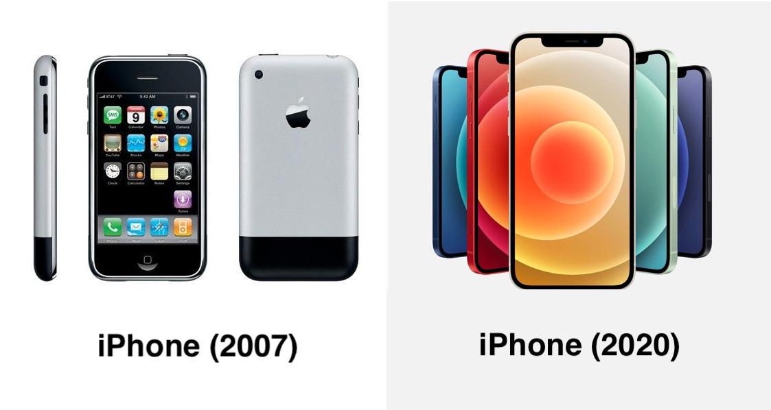 Развитие iPhone: от 2G до 5G - 1