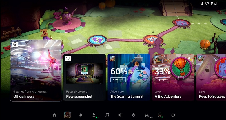 Sony наконец-то показала интерфейс PlayStation 5, причём весьма подробно