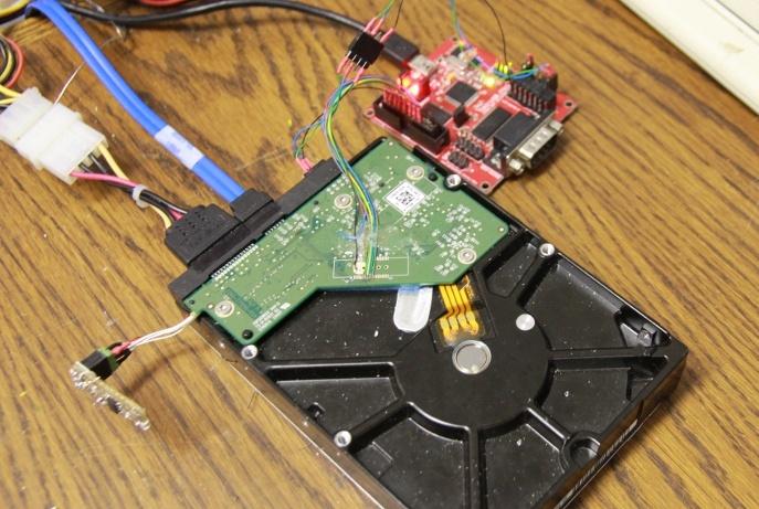 Аппаратный взлом жёсткого диска - 1