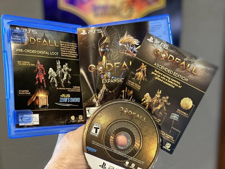 Это первая полностью готовая игра для PlayStation 5. Godfall готова к отправке в магазины