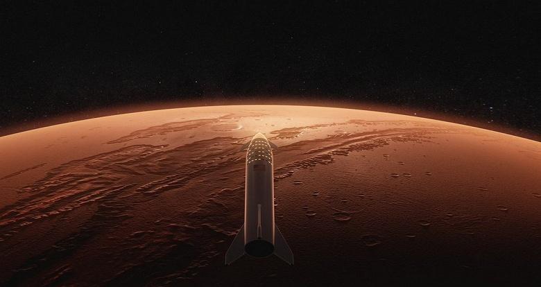 Непривычно осторожный Илон Маск заявил, что космический корабль Starship, возможно, отправится к Марсу в 2024 году