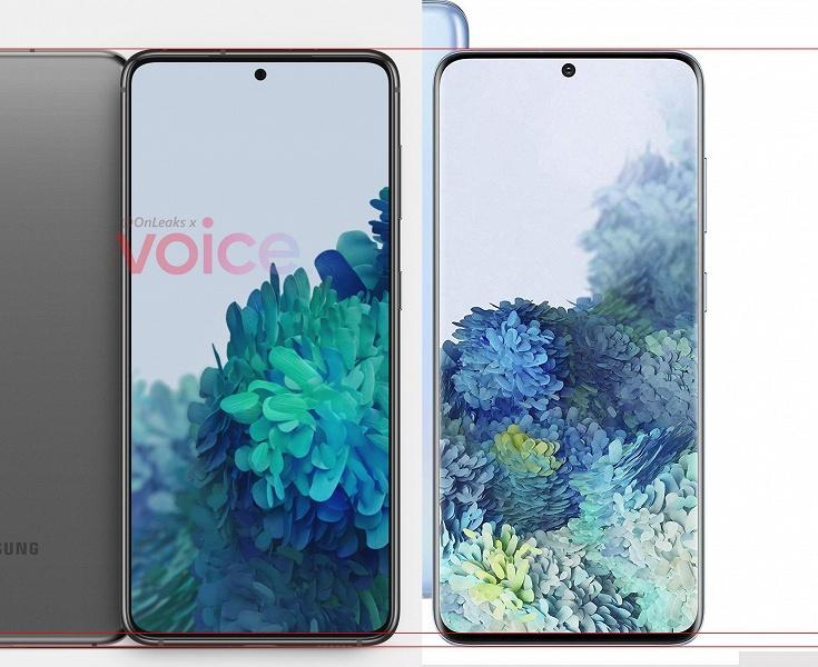 Samsung решила прекратить делать в своих смартфонах тонкие рамки? Galaxy S21 по этому пункту проигрывает Galaxy S20