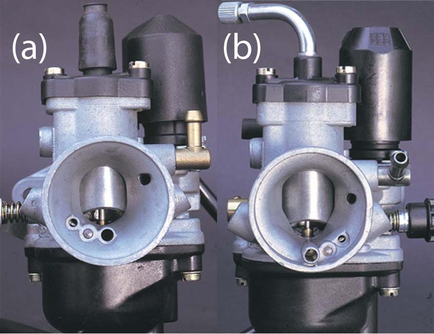 Карбюраторы мотоциклетного типа. Диффузор и дроссельная заслонка - 2