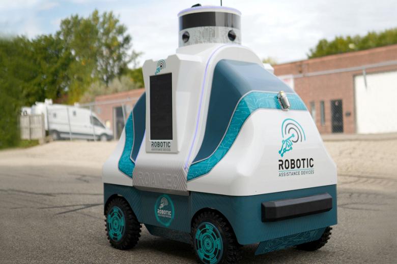 Первый робот-патрульный ROAMEO отгружен заказчику