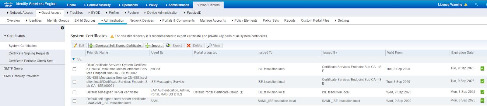 Cisco ISE: Настройка гостевого доступа на FortiAP. Часть 3 - 14