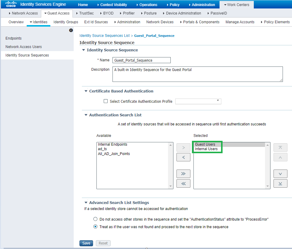 Cisco ISE: Настройка гостевого доступа на FortiAP. Часть 3 - 17