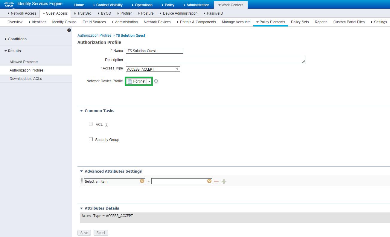 Cisco ISE: Настройка гостевого доступа на FortiAP. Часть 3 - 23