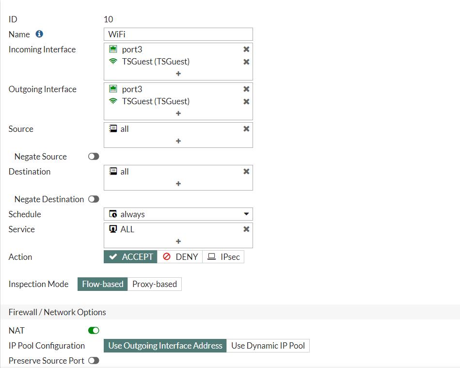 Cisco ISE: Настройка гостевого доступа на FortiAP. Часть 3 - 7