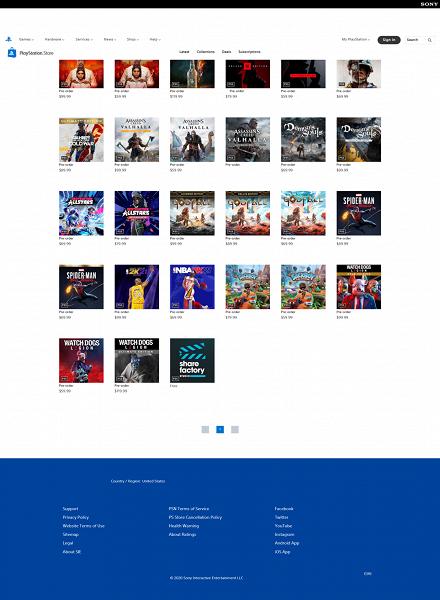 Sony начала распространять переродившийся PlayStation Store задолго до запуска PlayStation 5