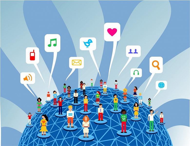 Более половины человечества сидит в соцсетях и пользуется мобильными