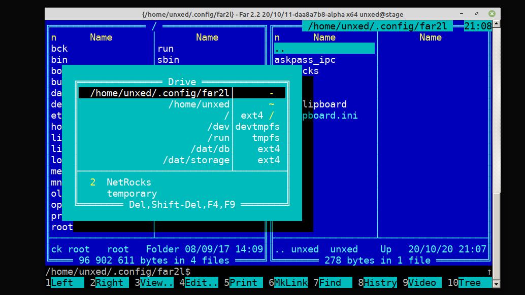Линукс-порт Far Manager: прогресс за 4 года - 2