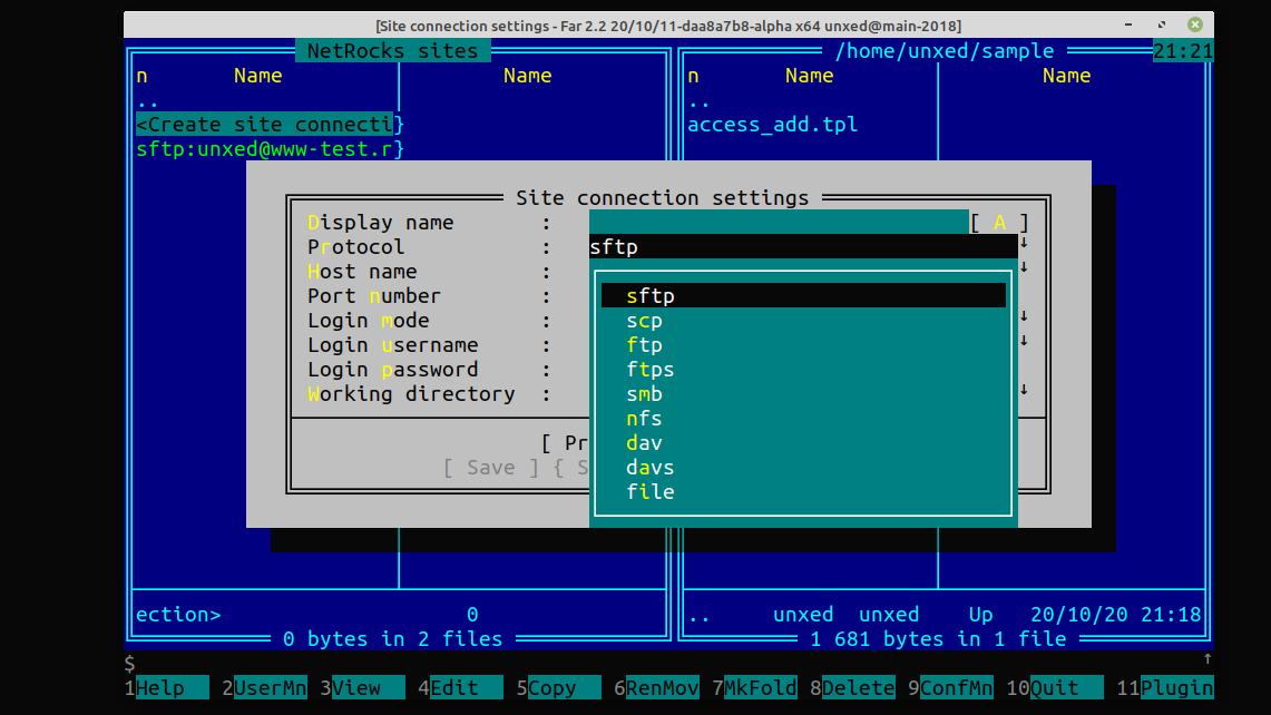 Линукс-порт Far Manager: прогресс за 4 года - 7