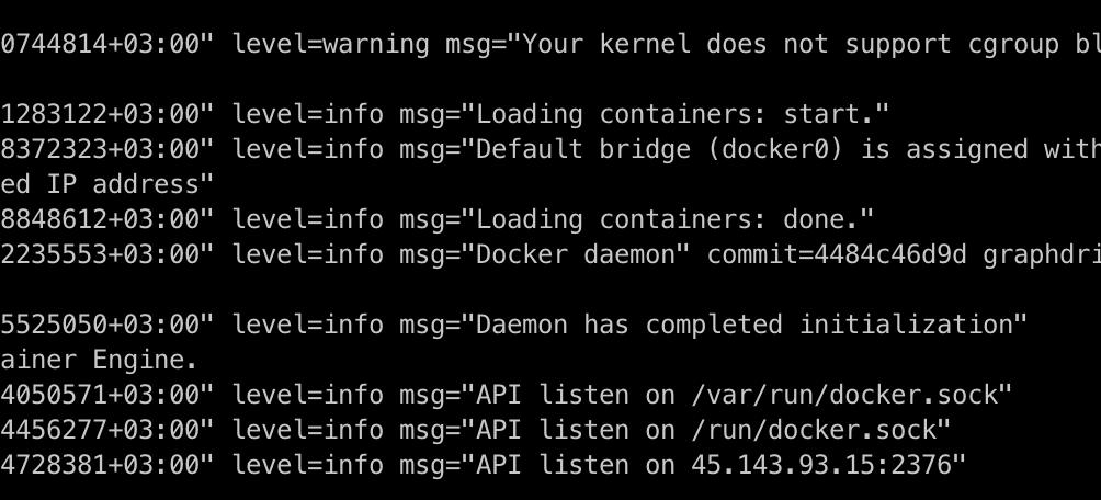 Как сэкономить на покупке ноутбука: Docker Remote API via TLS - 5