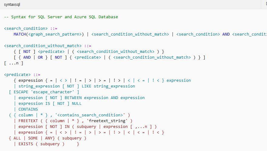 Дерево синтаксиса и альтернатива LINQ при взаимодействии с базами данных SQL - 7