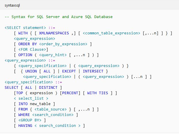 Дерево синтаксиса и альтернатива LINQ при взаимодействии с базами данных SQL - 8
