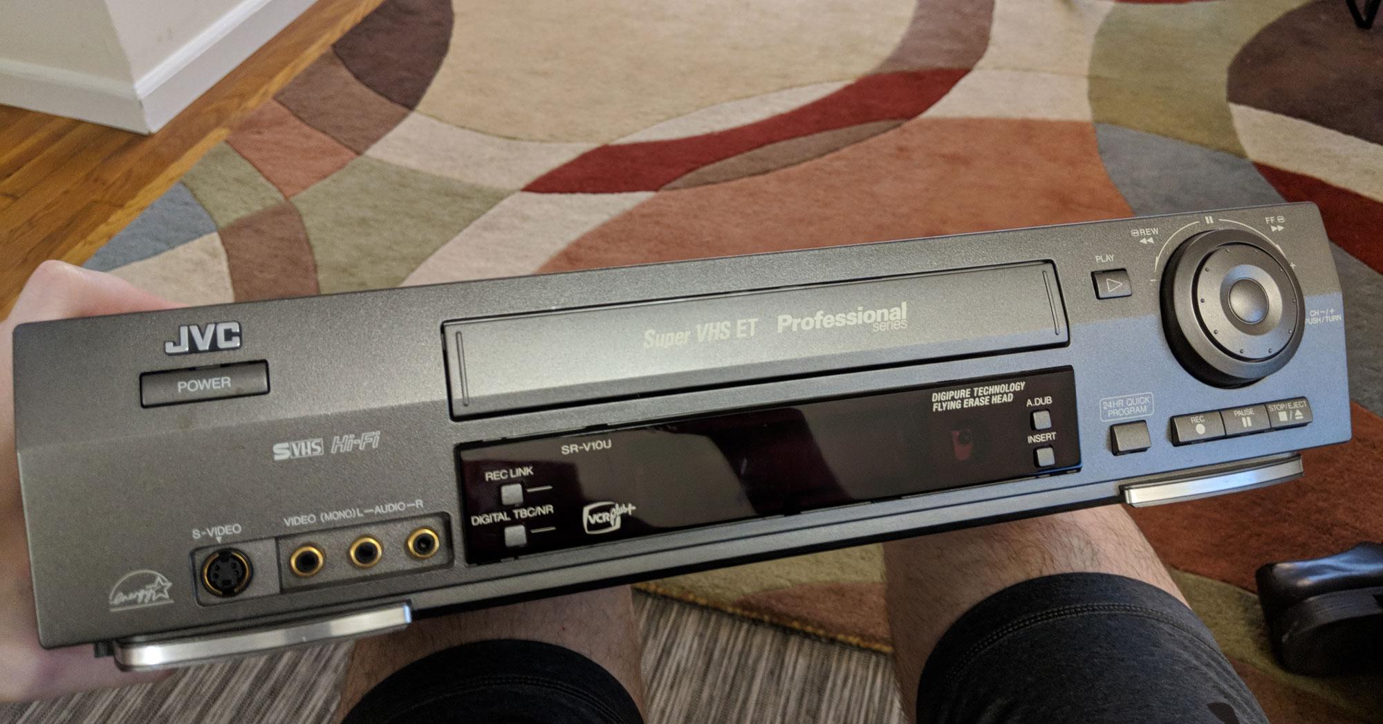 Мой восьмилетний квест по оцифровке 45 видеокассет. Часть 1 - 12