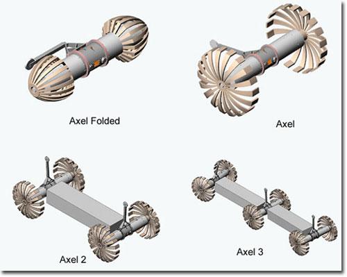 Связанные одним тросом: NASA показала новый планетоход DuAxel из двух половинок - 3