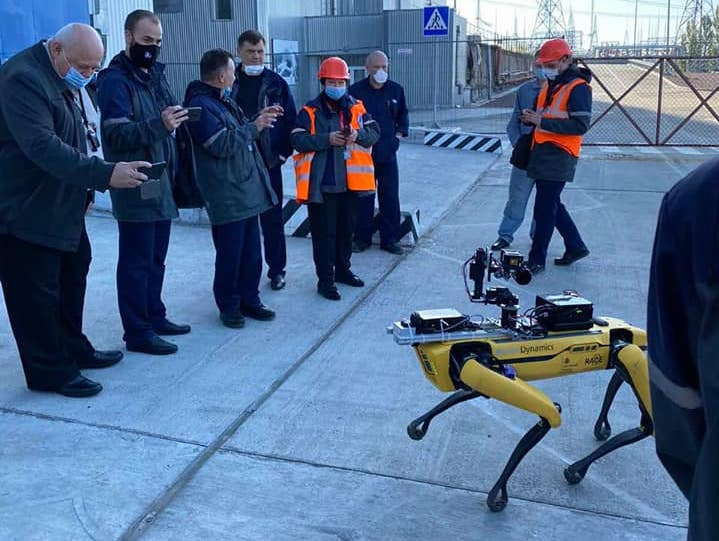 Знаменитый робопёс Spot прошёлся по Чернобылю