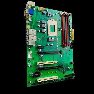 Процессорный разъем на плате Enctec Rev.B250 расположен с обратной стороны