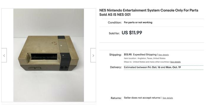 Что я понял о праве на ремонт, восстанавливая 30-летнюю NES - 2