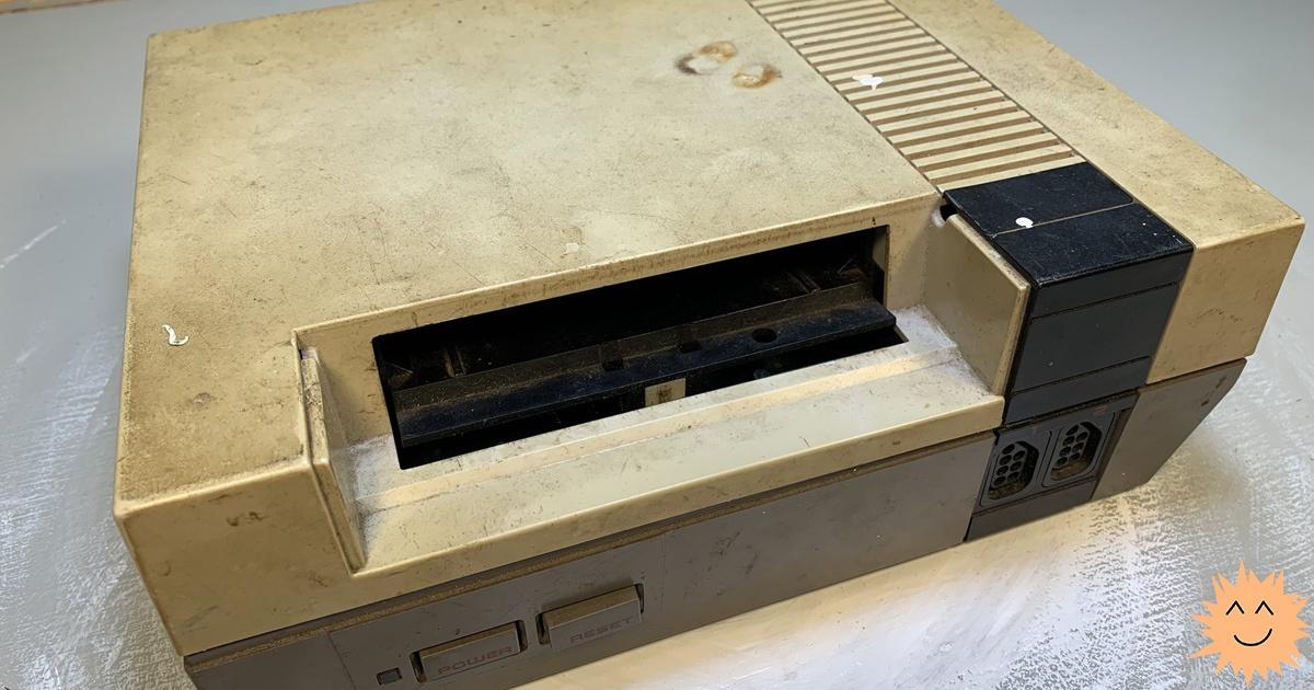 Что я понял о праве на ремонт, восстанавливая 30-летнюю NES - 1