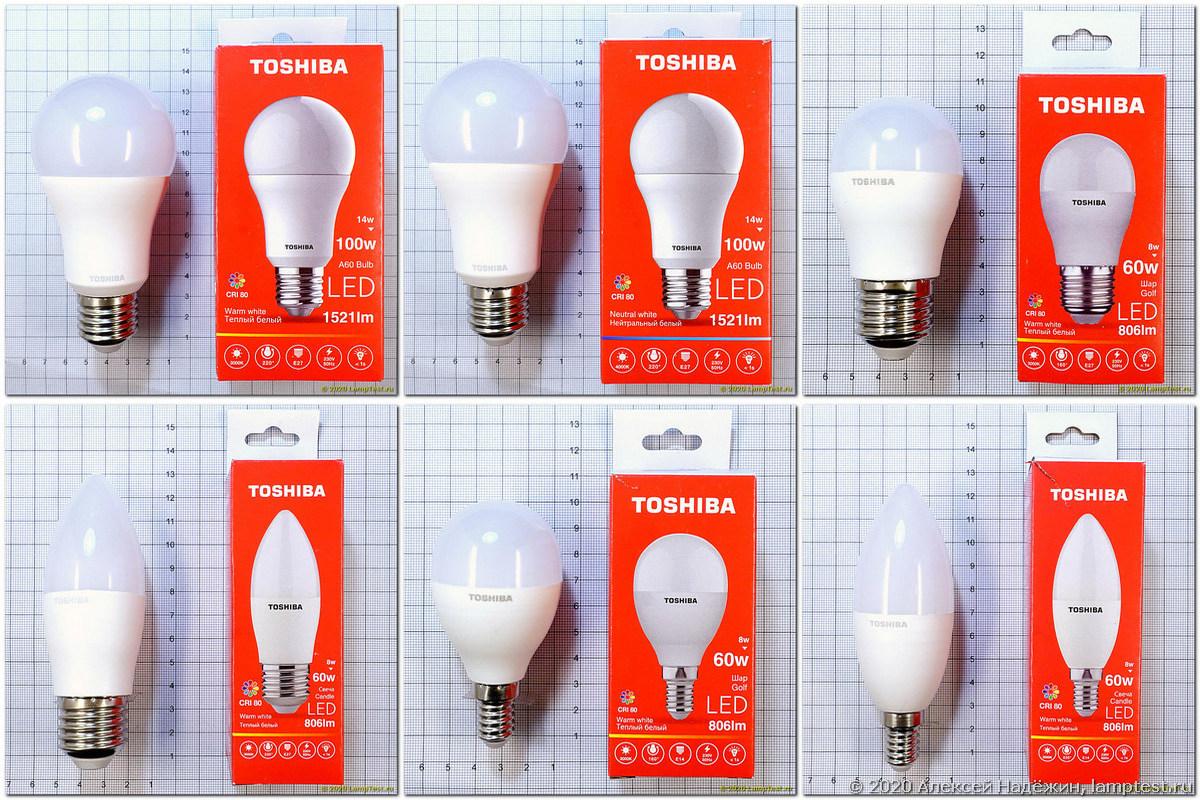 Светодиодные лампы Toshiba - 1