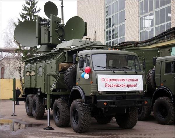 Система радиоэлектронной борьбы «Красуха-4» используется, в том числе, для создания помех наблюдениям спутников радиолокационной разведки (источник).