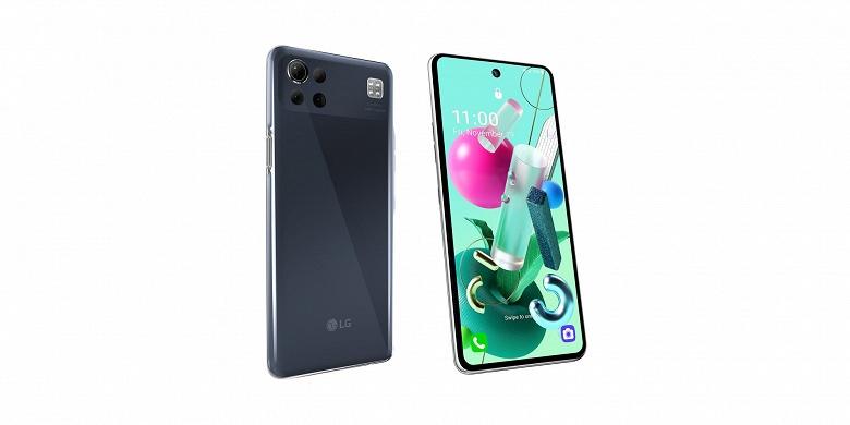 Такой LG действительно ни на что не похож. Представлен смартфон K92