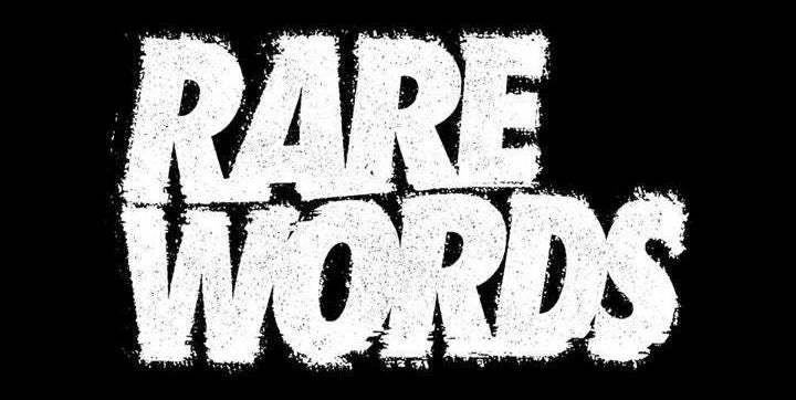 7 слов в английском, которые встречаются в СМИ реже чем 3 случая на 100 миллионов - 1
