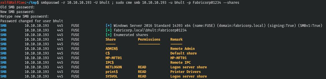 Hack The Box. Прохождение Fuse. RPC, принтеры и опасная привилегия SeLoadDriverPrivilege - 11