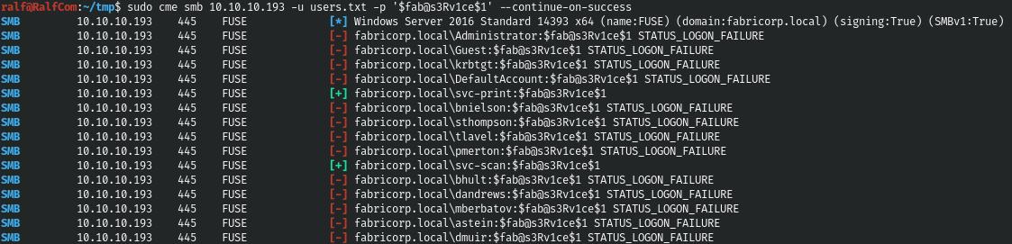 Hack The Box. Прохождение Fuse. RPC, принтеры и опасная привилегия SeLoadDriverPrivilege - 16