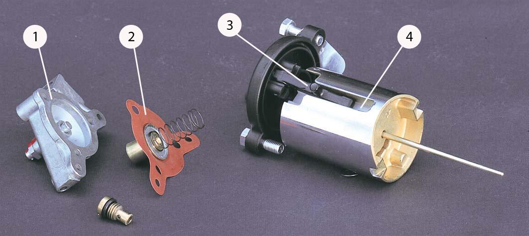 Карбюраторы мотоциклетного типа. Вспомогательные устройства - 6