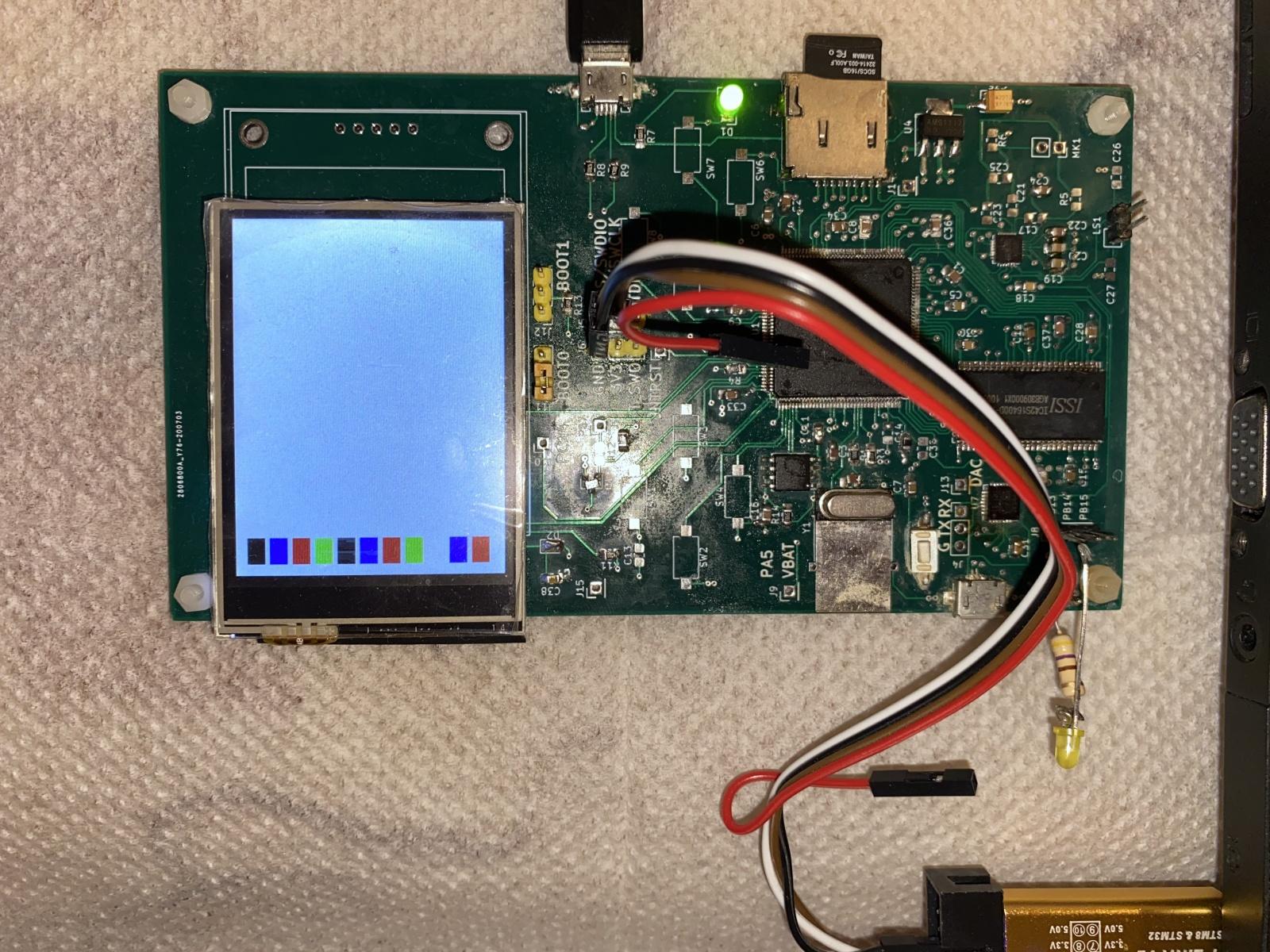 STM32 DoomBoy SDRAM ILI9341 - 2