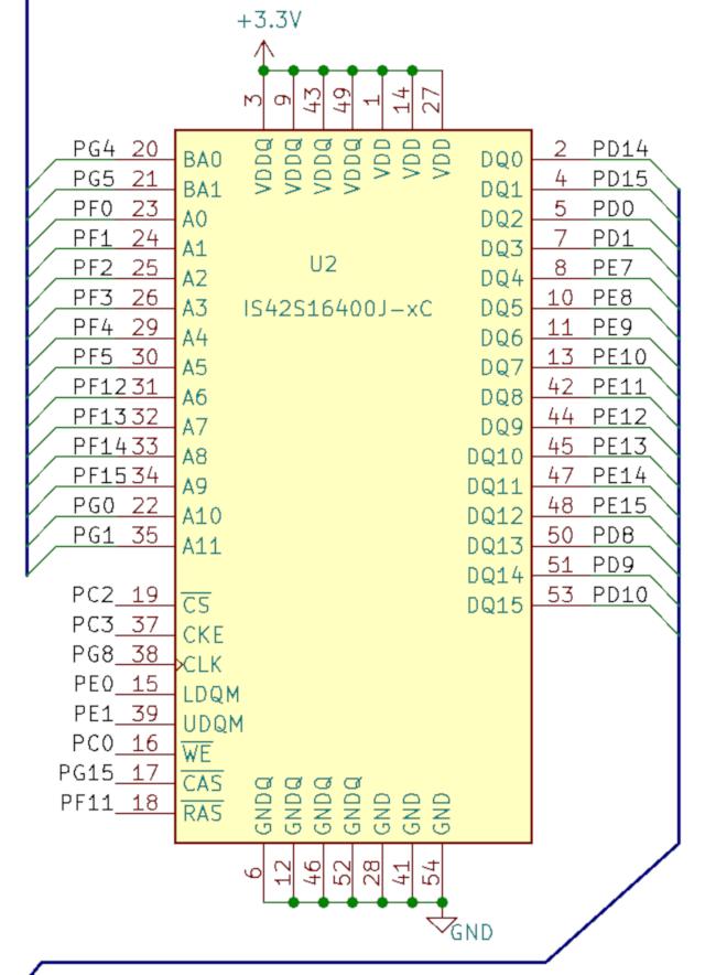 STM32 DoomBoy SDRAM ILI9341 - 3