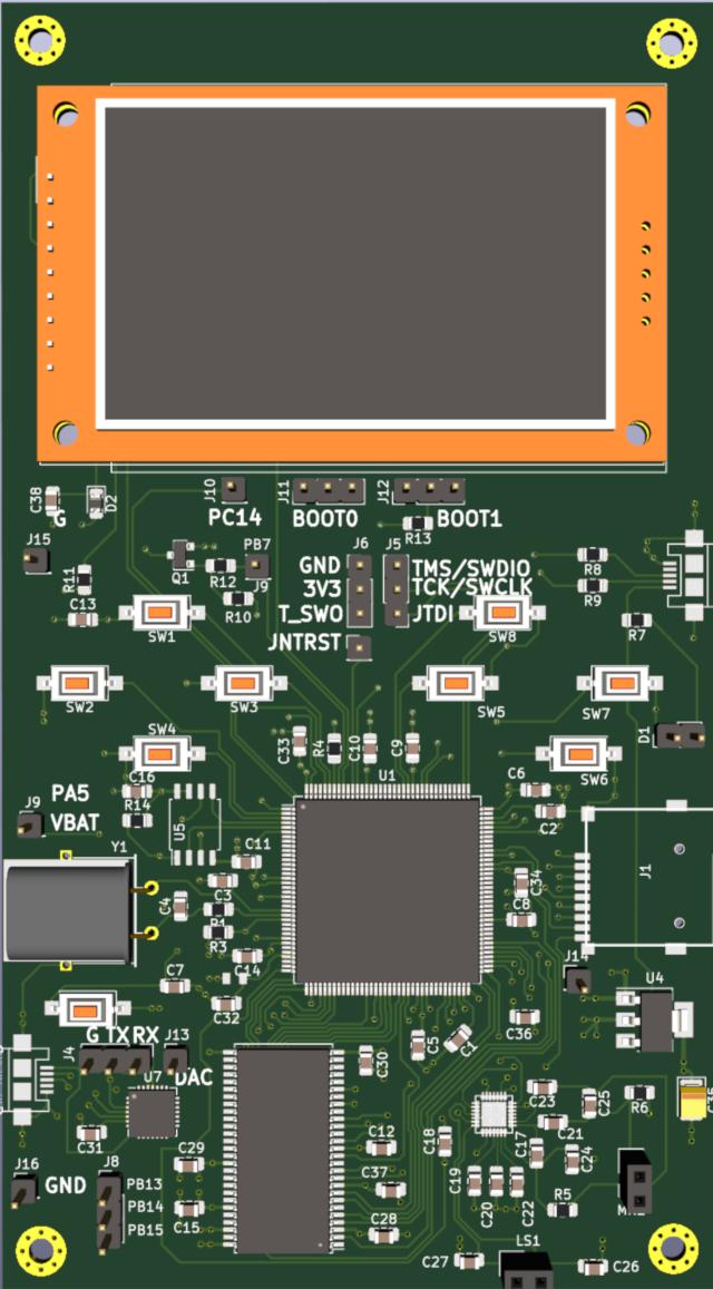 STM32 DoomBoy SDRAM ILI9341 - 1