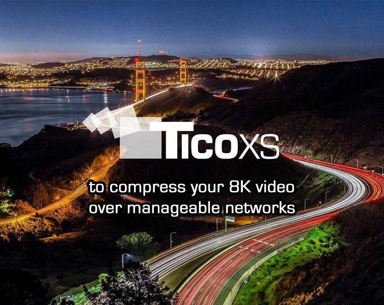 IP-ядра кодера и декодера intoPIX 8K TICO-XS поддерживают стандарт JPEG XS