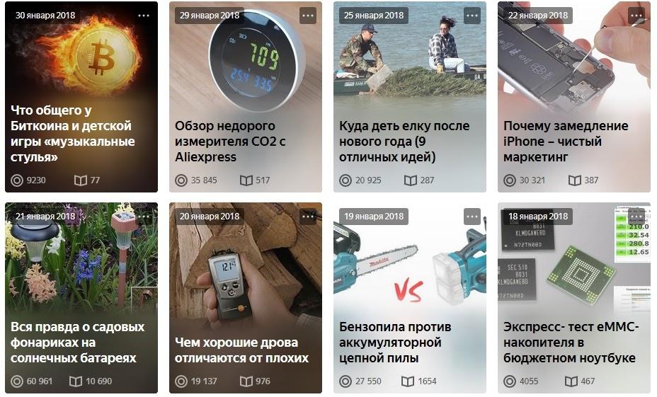 Habr, iXBT.Live, Pikabu и Яндекс.Дзен: сравнение четырех площадок и их ППА через один пост - 9