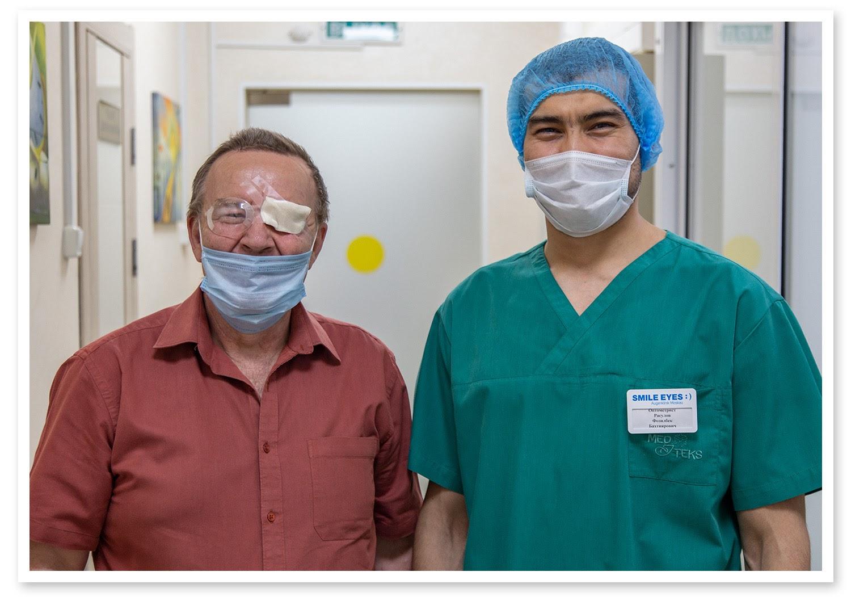 Операция «Глаз»: руки, линза и алмаз. Контрнаступление на катаракту - 27