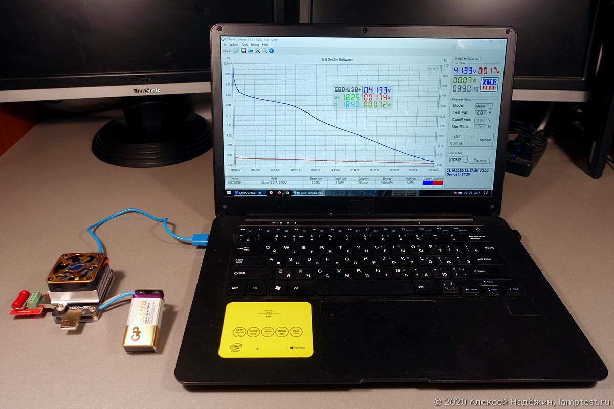 Большой тест батареек Крона - 2