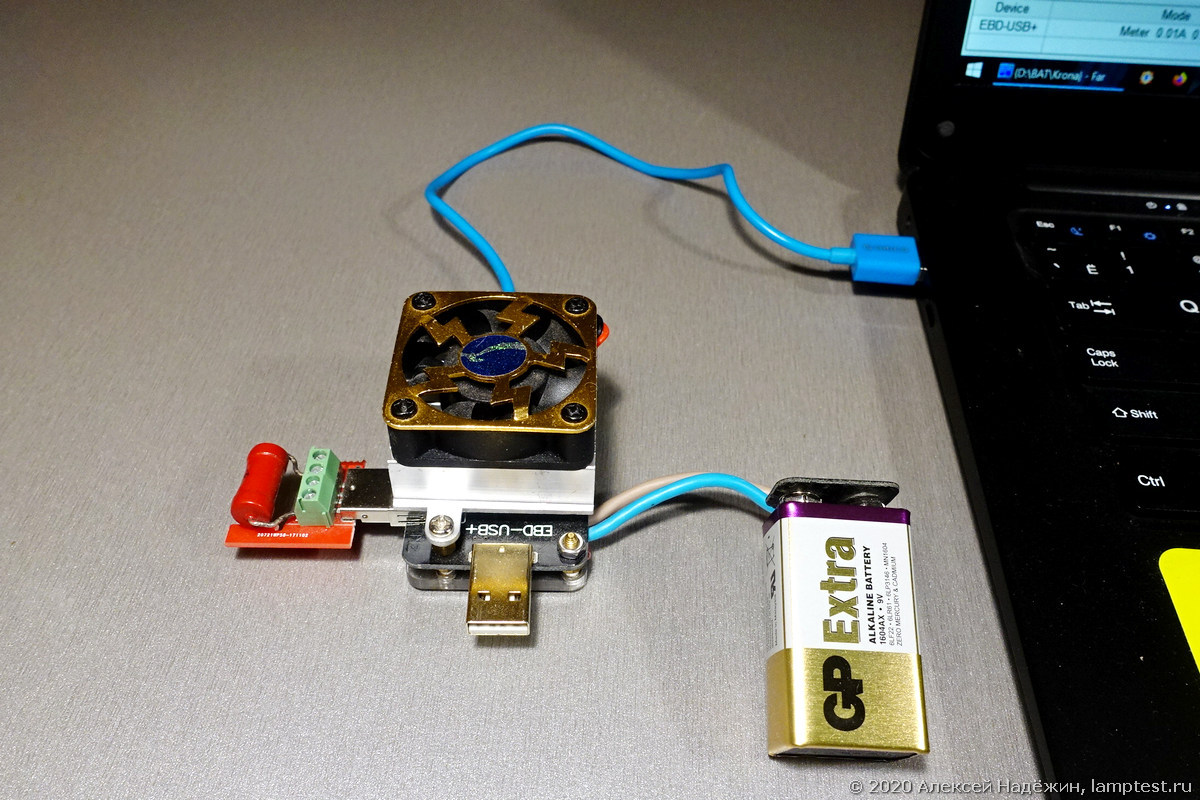 Большой тест батареек Крона - 3
