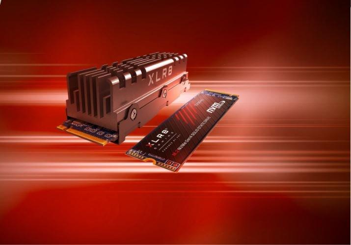 Твердотельные накопители PNY XLR8 CS3040 оснащены интерфейсом PCIe Gen4 x4