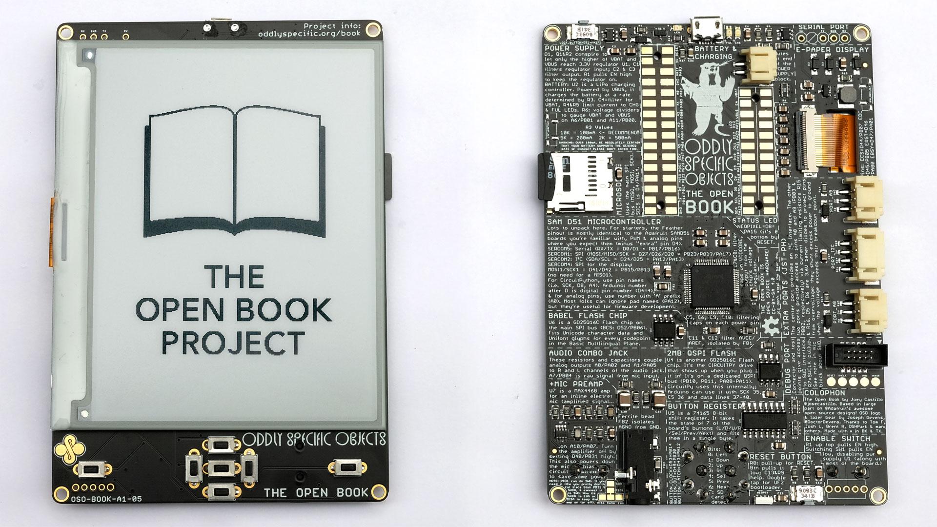 Open Book: проект по сборке свободного eReader с паяльником в руках - 1