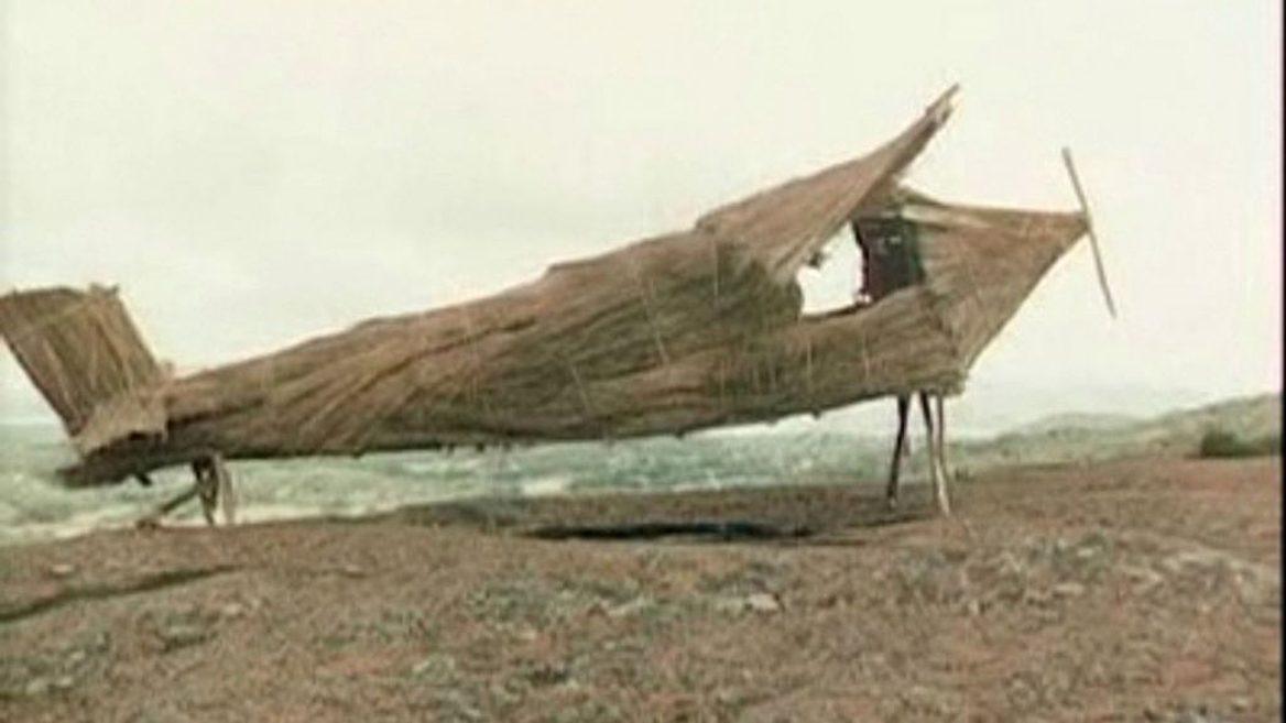 «Самолет», построенный аборигенами Меланезии около импровизированной взлетной полосы