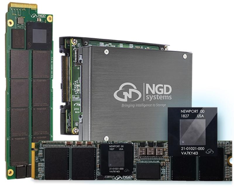 NGD выпустила 12 ТБ SSD со встроенным 4-ядерным ARM-процессором - 1