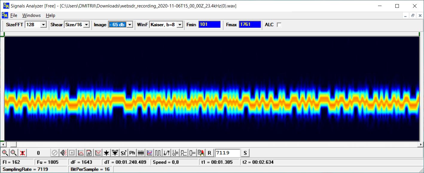 Как принять сигналы немецкого ВМФ с помощью звуковой карты, или изучаем радиосигналы сверхнизких частот - 6