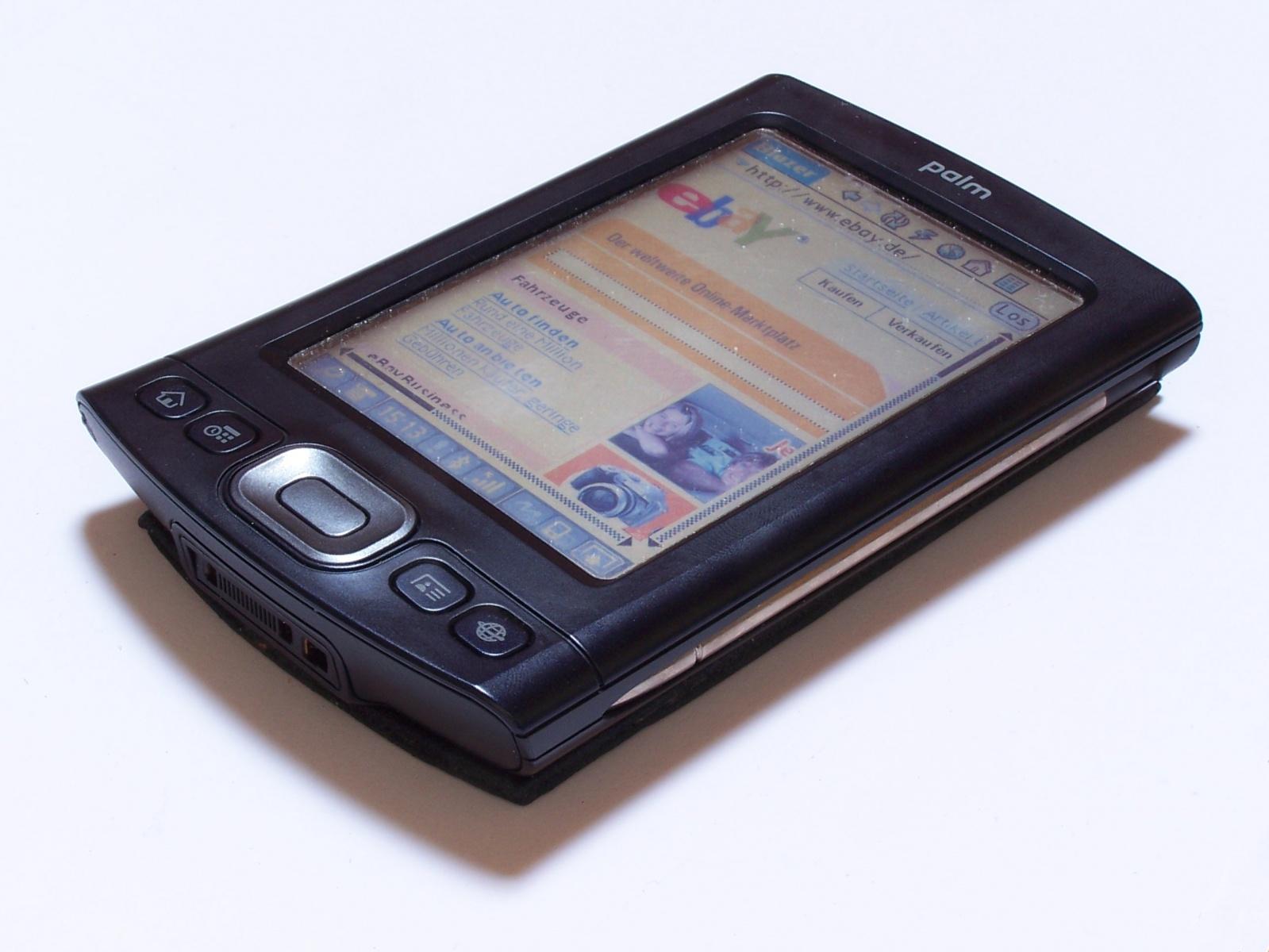 Palm TX — редкий гость в 2020 году. Восстанавливаем аккумулятор и подключаемся к сети интернет - 2