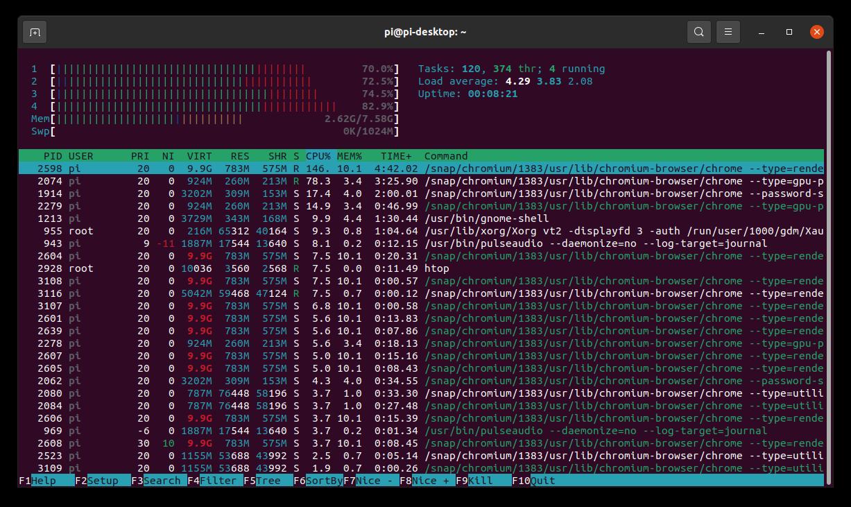 Попытка использовать Raspberry Pi 4 в качестве десктопа. Часть 2, Ubuntu - 12