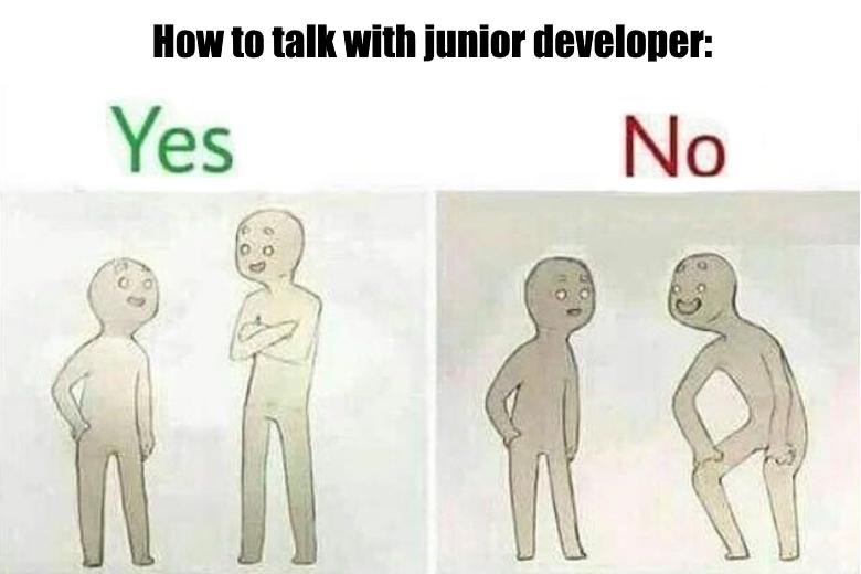 Как не испортить своего джуна - 1